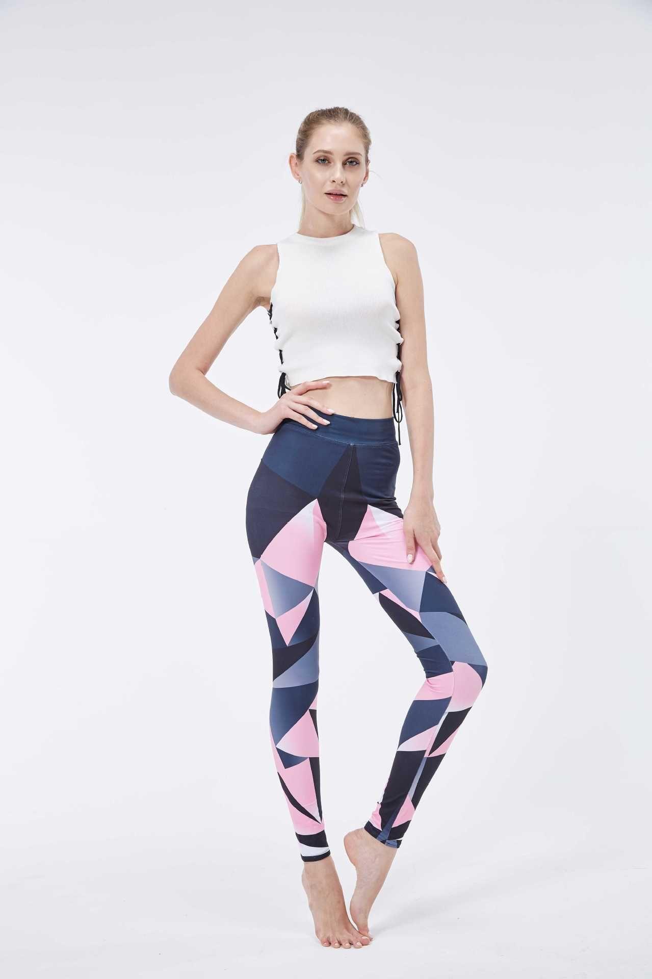96af14437d84 2019 New Arrival Women's Printed Leggings Fashion High Waist Printed ...