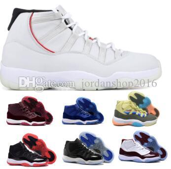5b78f65503d64c 2019 11 Basketball Shoes Sneakers Blue Bred Velvet Heiress Platinum ...