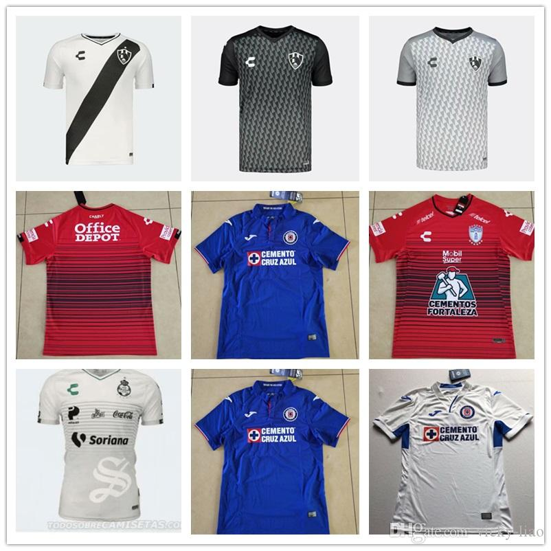 22eb9f5b15b DHL Top Thai Quality Cruz Azul Pachuca Cuervos Home Away Third ...