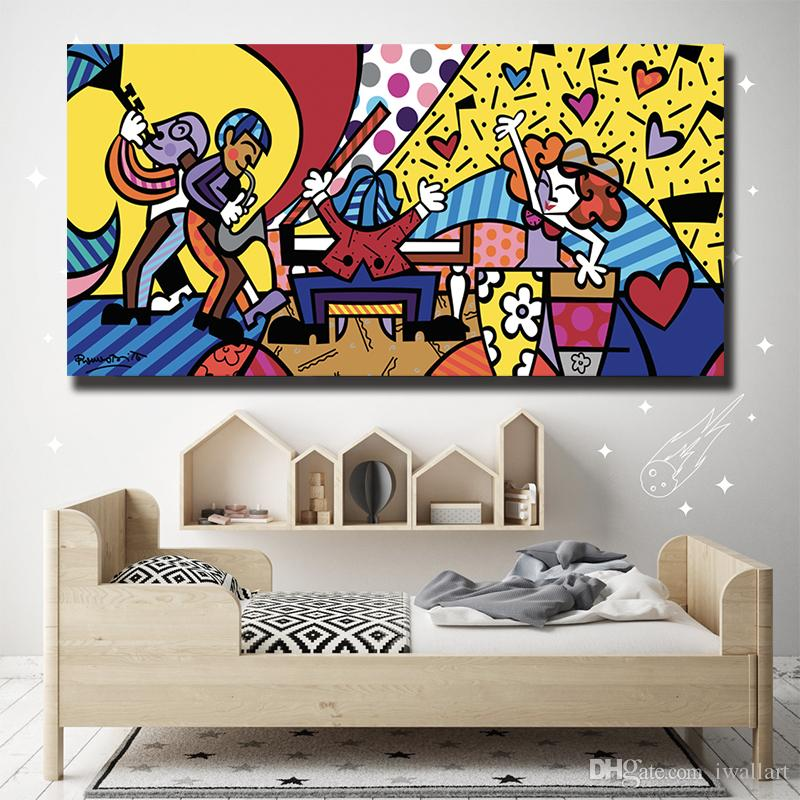 Music Poster Romero Gilcee From Ode Art Canvas Poster Painting Wall Picture Print Modern For Living Room Home Decoration