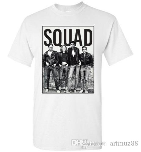 4f590ea38 The Office Squad Funny Michael Dwight Jim Pam Comedy T Shirt Buy Cool T  Shirts Funky Tee Shirts From Artmuz88, $10.76| DHgate.Com