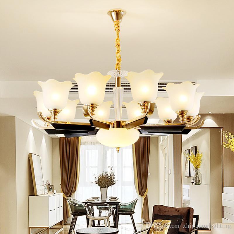 lampada lampadari di cristallo grande lampadario sospensione lampada  industrielle Soggiorno lampada camera da letto matrimoniale sala da pranzo  ...