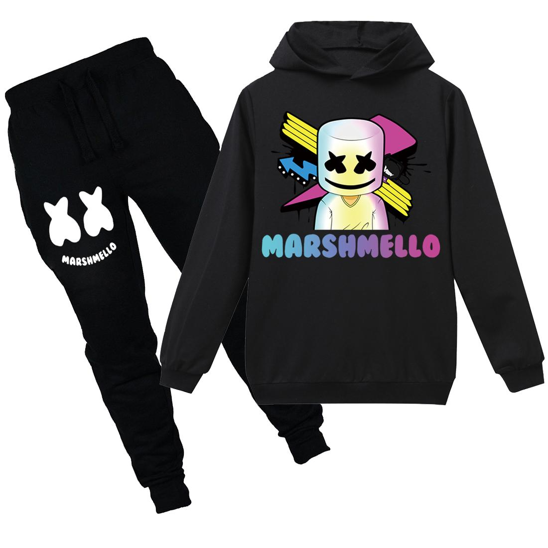 ef6bec06770e 2019 Marshmello Dj Mask Boys Hoodie Cotton 2019 New Spring Sweatshirts  Cotton Girls T Shirt Kids Clothes Fortnight Hoodie Tracksuits From  Tzx3766256, ...