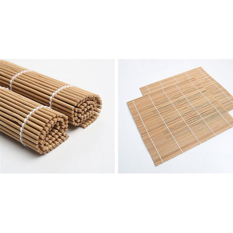 Bamboo Sushi Making Kit Includes 2 Sushi Rolling Mats 1 Towl 1 Rice Paddle 1 Rice Spreader Chopsticks