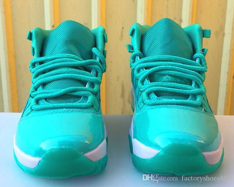 39138b319c8f 2019 WoMen Basketball Shoes J11 XI Low High Concord Easter Emerald  Basketball Athletic Sports Sneakers Green Womens 11s Shoes 00 Geox Shoes  Dress Shoes For ...