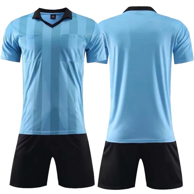Compre 2019 Nuevo 2018 Nuevo Árbitro Profesional Camisetas De Fútbol Sets  Survetement Fútbol Kit Entrenamiento Camiseta De Fútbol Pantalones Cortos  Futbol ... 2bbe4924b1e52