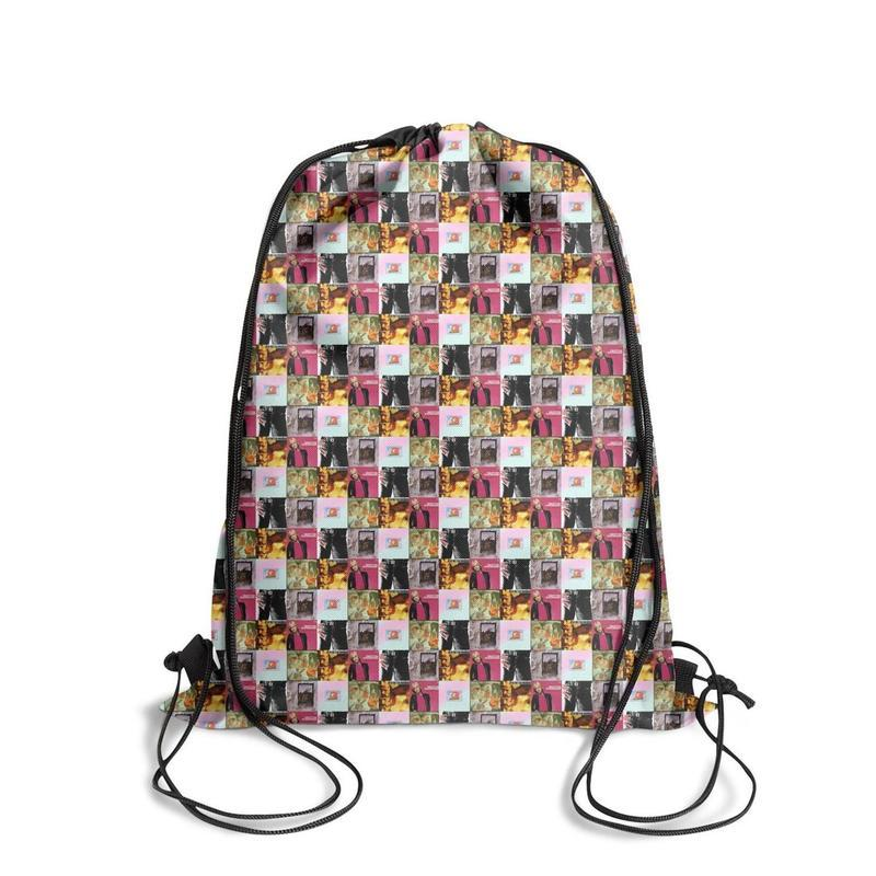 Drawstring Sports Backpack Tom Petty And TheHeartbreakers. popular adjustable school Travel Fabric Backpack