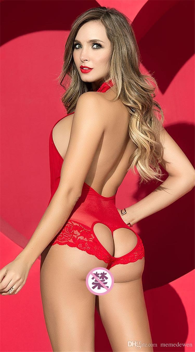 Acheter Sexy Lingerie Ms Deep V Body Pyjama Dos Nu Body Fille Passion  Lingerie De  16.25 Du Lifemirror  1bb7a08bd4f