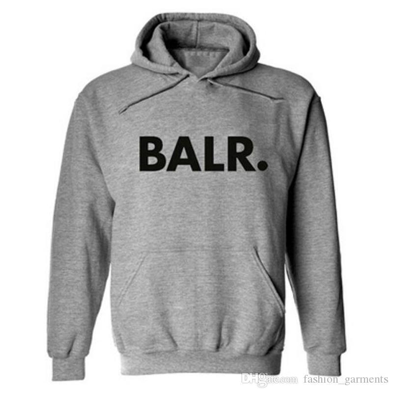 e2390974f854 2019 New Balr Hoodie Fashion Box Logo Street Sport Mens Designer Hoodies  Unisex Loose Fit Pullover Sweatshirt M XXXL From Fashion garments