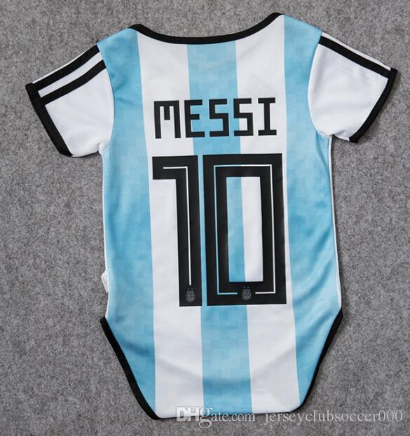 c9be3740f 2019 Baby Jersey 2018 World Cup Baby Jersey Argentina Spain Coloimbia Home  Soccer Shirt 2018 Mexico Russia Sweden Belgium Kid Jerseys Baby Shirts From  ...