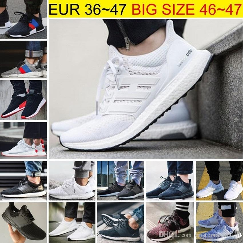 7863e0fc79a Ultra Boost Shoes 4.0 Triple White Black Grey Men UB 3.0 Oreo Running Shoes  Sports Sneakers 40 45 Hot Sale Dress Shoes For Men Suede Shoes From  Wengbrand1