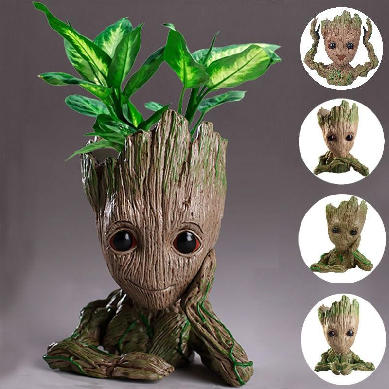 Image result for baby groot flower pot