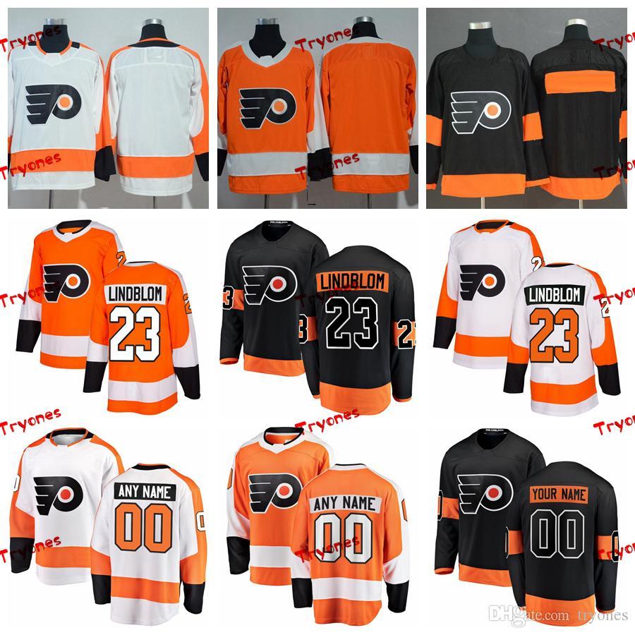 31e929d159f 2019 2019 Oskar Lindblom Philadelphia Flyers Stitched Jerseys Customize  Home New Alternate Black Shirts #23 Oskar Lindblom Hockey Jerseys S XXXL  From ...