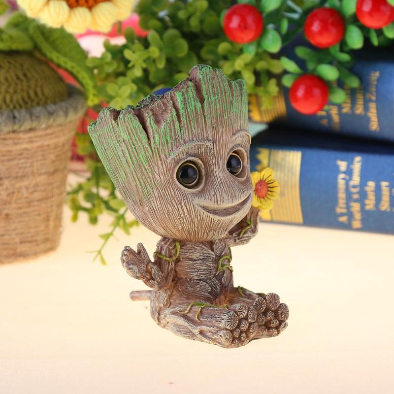 Mini Forma De Árvore de Madeira Decoração Do Aquário Tronco Natural Árvore Driftwood Aquário Tanque De Peixes Planta Coto Ornamento Bomba De Ar Decoração