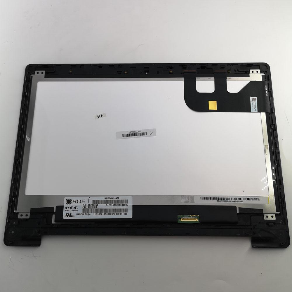 Large Touch Screen >> 13 3 Lcd Touch Screen Digitizer Bezel Display Laptop For Asus Transformer Book Tp300 Tp300l Tp300la Tp300ld Dw067 1366x768