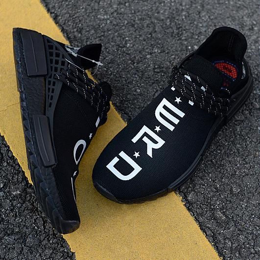 705807149 Pharrell NERD Human Race NMD TR BB7603 Friends Family Burgundy Men Womens  Running Shoes CC Black White Sports Designer Sneakers Size 5 11 Hoka  Running Shoes ...