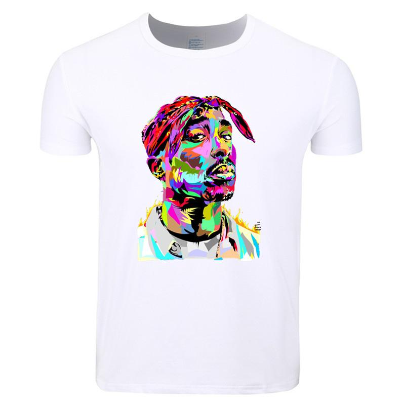 New Red Thinking Tupac 2pac 3D Print T-Shirt Women Men Casual Short Sleeve Tops