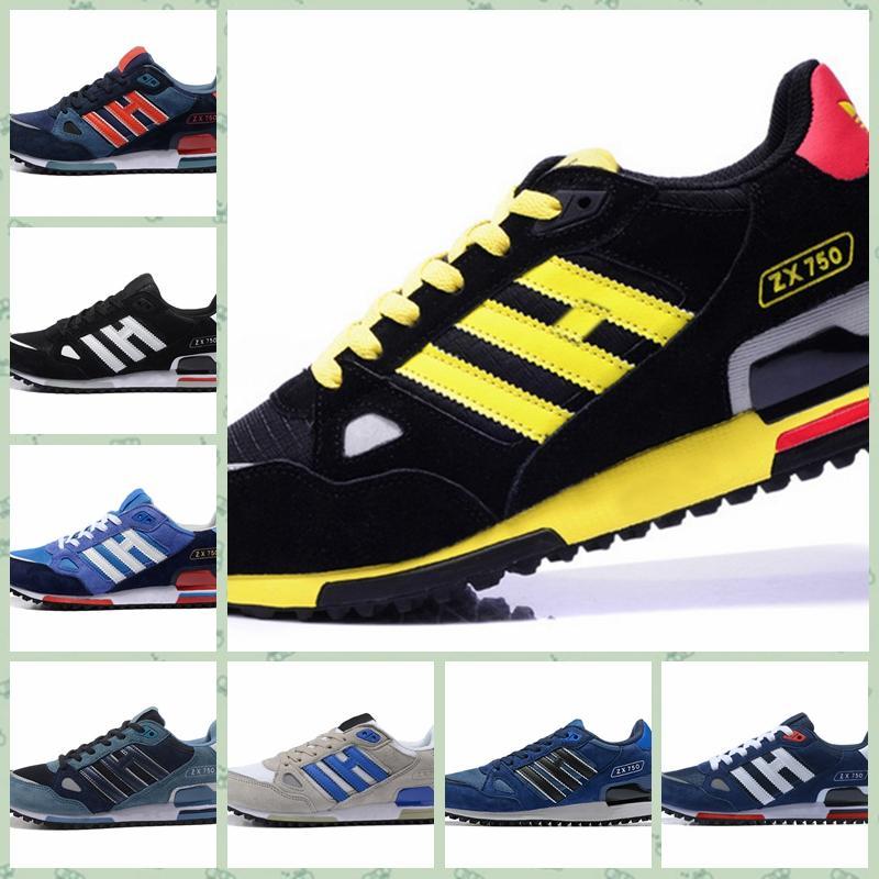 Adidas Original Ultra ZX ZX750 heißer Verkauf billig Männer Frauen Sport im Freien Schuhe 750s Skateboarding 750 Offizielle Luxus Designer Laufschuhe