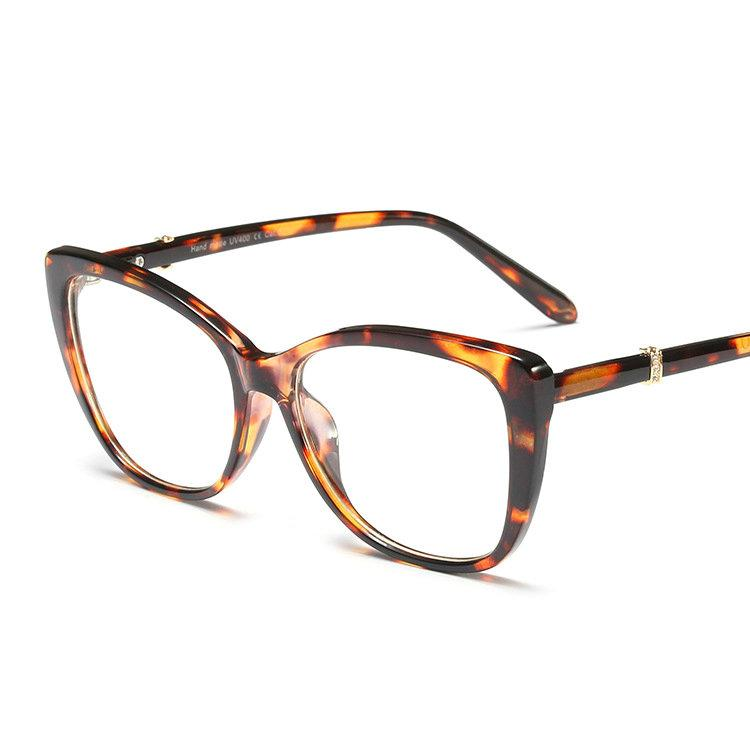 73e540195ac 2019 Ladies Sexy Cat Glasses Frames Men Women Optical Fashion ...