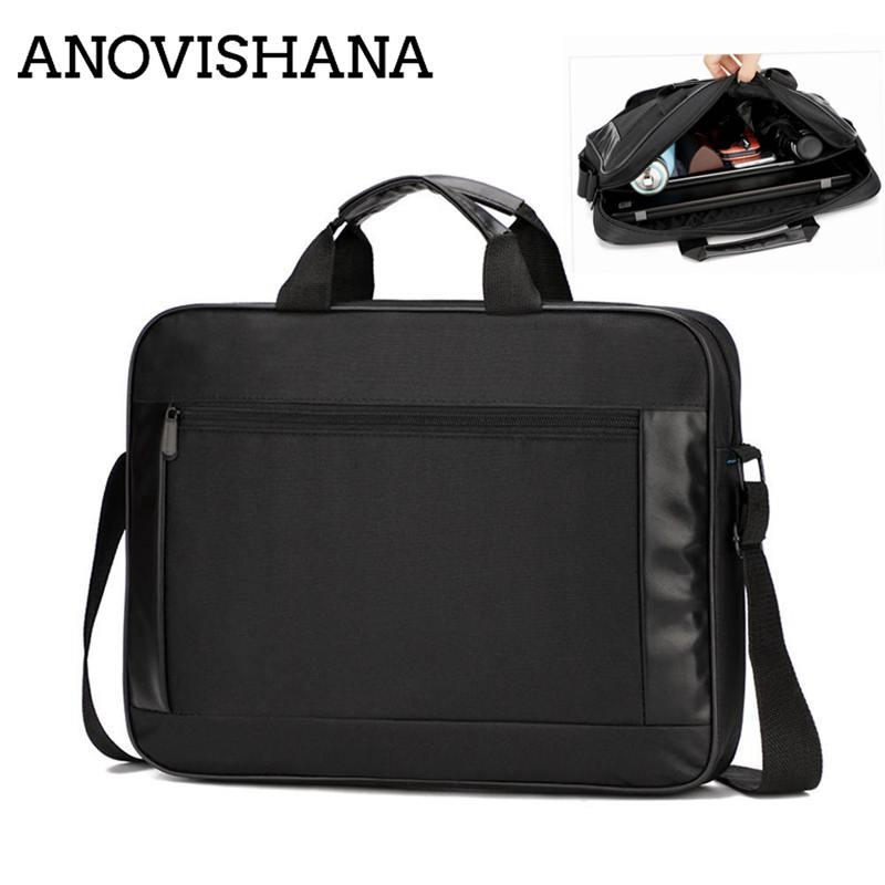 ANOVISHANA Male Briefcase Maleta Casual Laptop Bags Business Handbag ... a5b2aa744376e