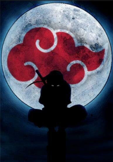 Anime Naruto Uchiha Itachi Art Silk Poster 24x36inch