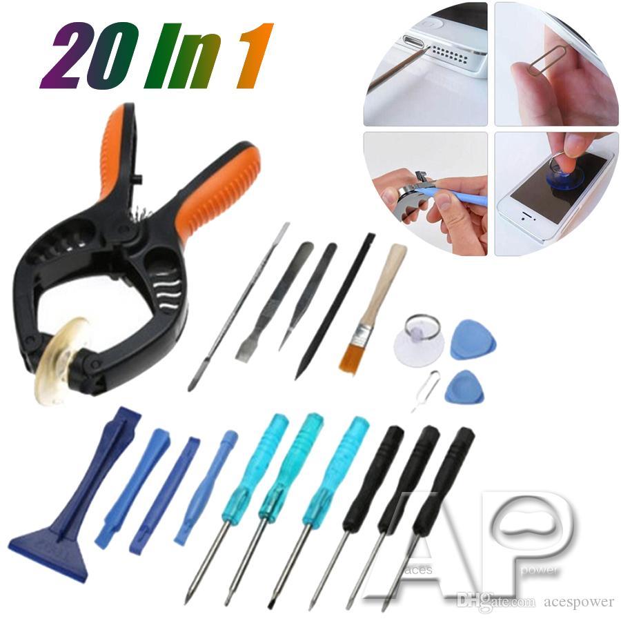 Kits de ferramenta de chave de fenda Kits de ferramentas de reparo de telefone celular Torx chave de fenda Reparação de ferramentas de abertura do kit do iPhone para iPhone iPad Samsung com varejo