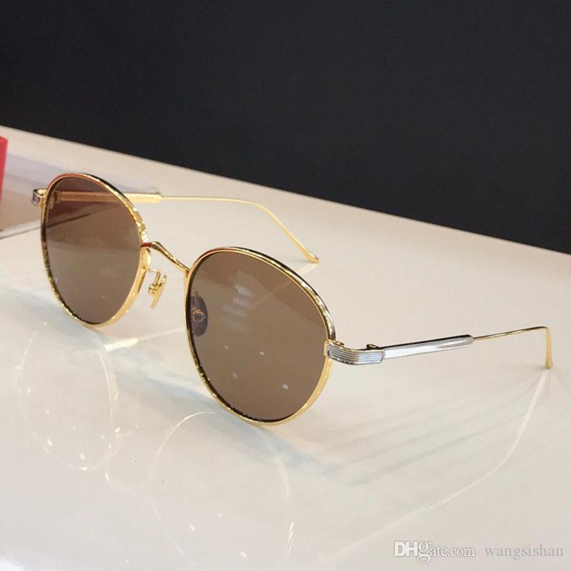 9d51220814c CT0009 Fashion Luxury Retro Sunglasses Metal Frame Designer Glasses ...