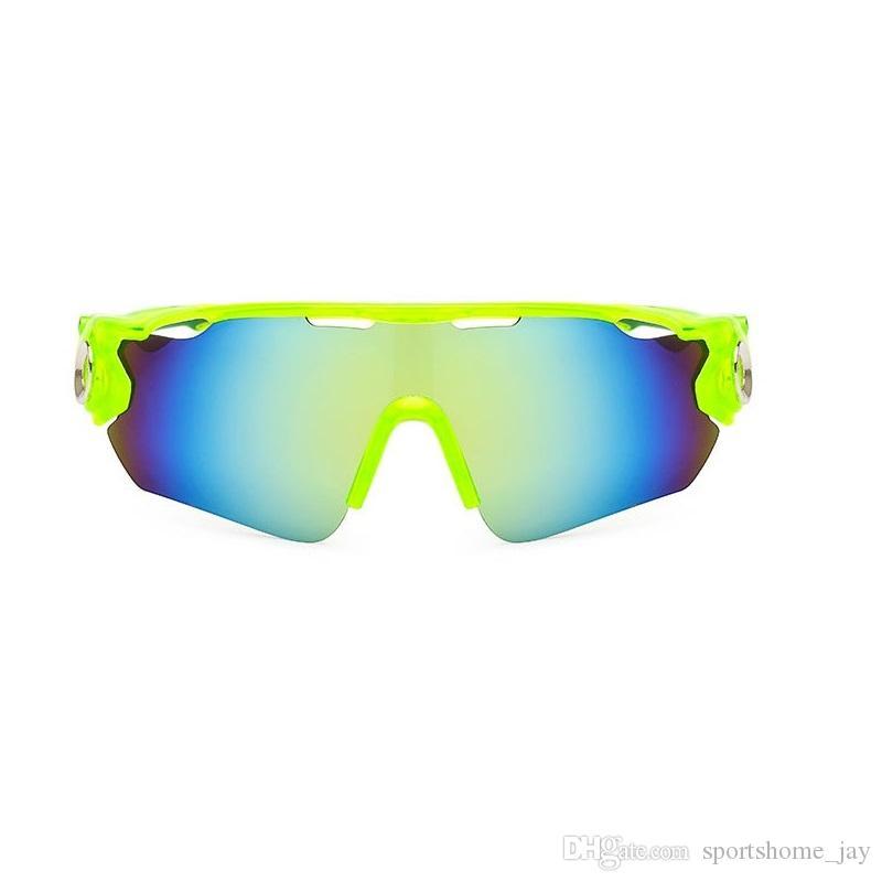 23e3844b00 DHL UV400 Gafas De Ciclismo Deporte Al Aire Libre MTB Bicicleta Cristal  Motocicleta Gafas De Sol De Conducción Mujeres Pesca Gafas Oculos Ciclismo  Por ...