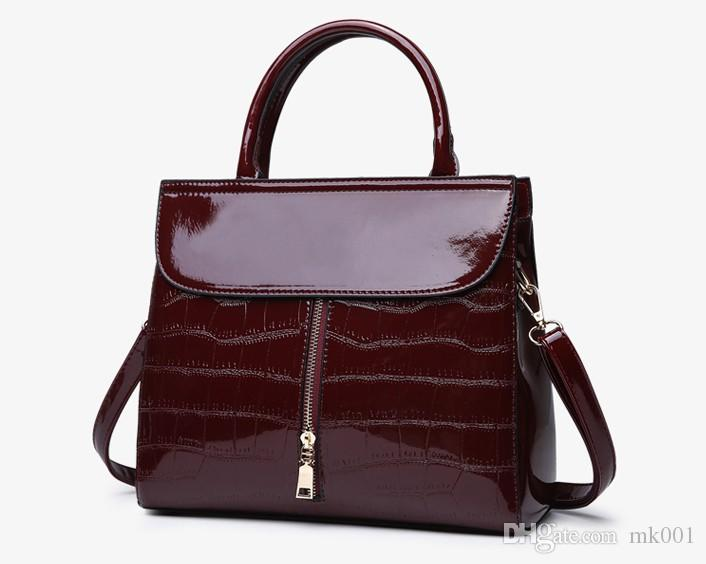 2019 New Women Shoulder Bag Fashion PU Leather Women Bag Autumn ... 70f5891d7d28f