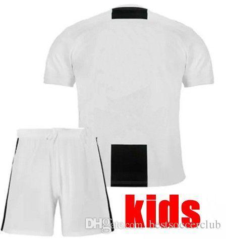 sports shoes 9c552 3f956 New #7 RONALDO JUVEN home third Kit boys Kids Soccer Jersey 18 19 DYBALA EA  SPORTS JERSEY MANDZUKIC Football Shirt
