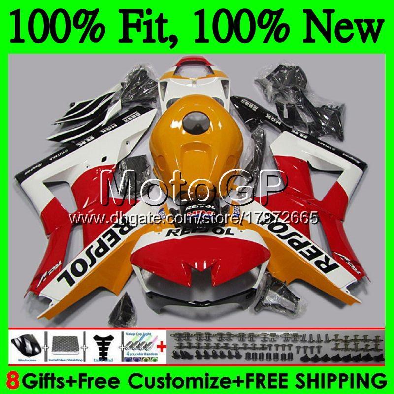 Injection Repsol orange For HONDA CBR600RR F5 13 14 15 16 17 62GP CBR 600RR 600 RR F5 CBR600 RR 2013 2014 2015 2016 2017 Fairing Bodywork