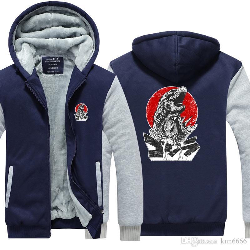 15c520a8e83 Grasse Hoodies 2019 Coat New Winter Thicken Fleece Cotton Zipper ...