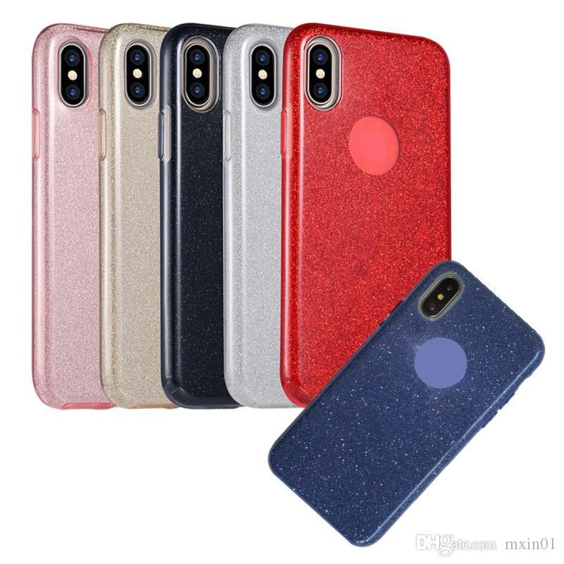 9fe668a7d 3 In 1 Bling Glitter Soft TPU Silicone PP Case For Huawei P20 P30 Pro Mate  10 20 Lite Nova 3 4 4E Y6 Y7 Pro 2019 Y9 2018 Honor 8C 8X 8A Cell Phone ...