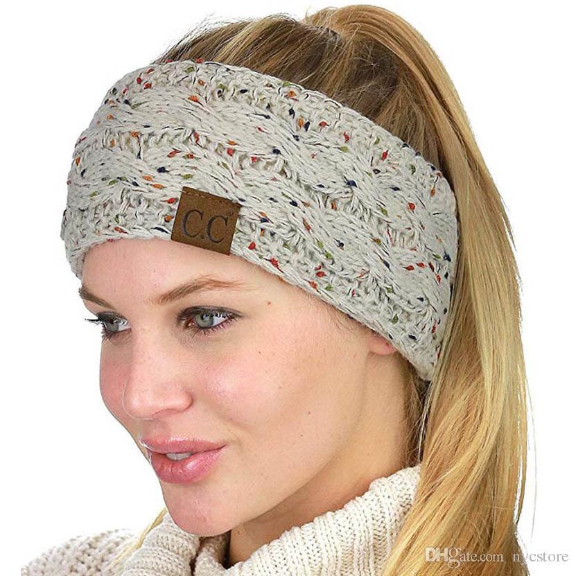 купить оптом Cc вязаные повязки женские зимние уши повязки вязаные