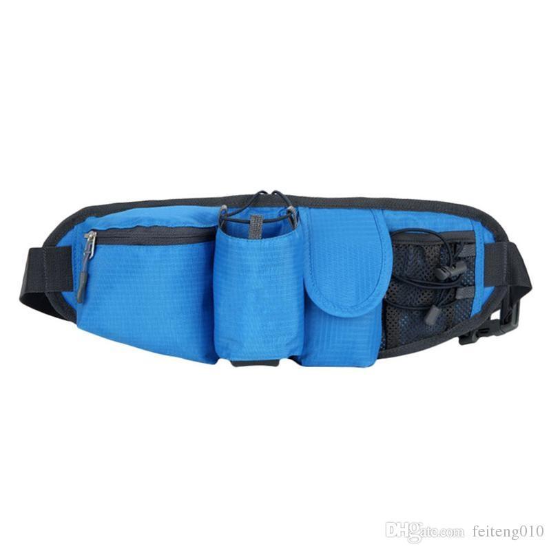 Running Waist Belt Bag Fanny Pack Water Bottle Holder For Men Women Hiking  Walking Phone 6 1 Inches Bags Trail Running Run Pouch #583267