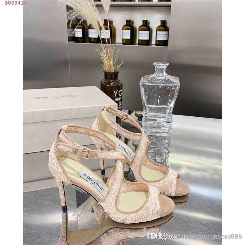 Cordones Sandalias Tela Y Tacón Cortesana Para Mujer Hueca Zapatos AltosFiesta Alto Estampado Encaje De Tacones Con 3q4Rj5AL