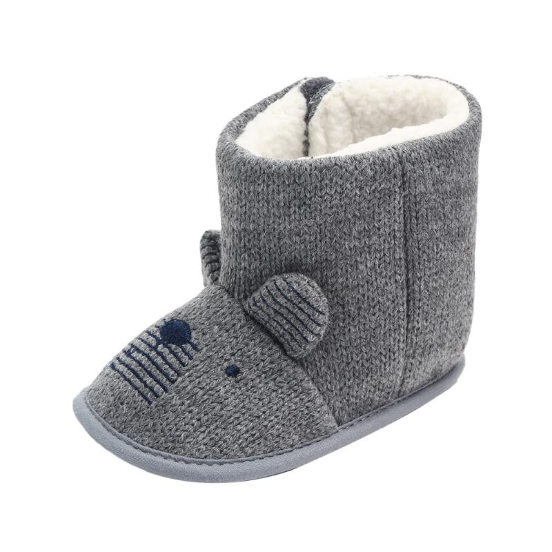 d94a8d174c616 New Winter Baby Girl Wool Cotton Boots Warm shoes Indoor Toddler Boots  Newborns Infants Baby Booties Girl BootsY M