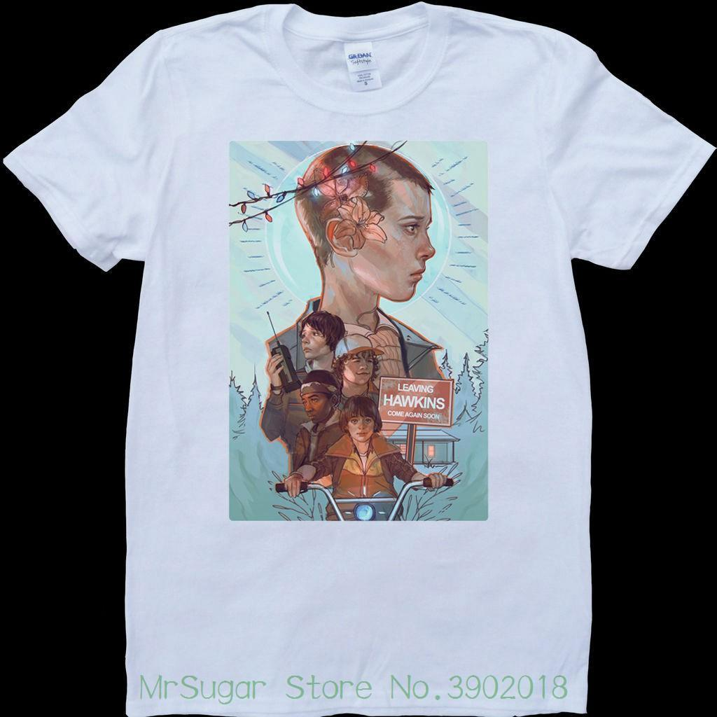 127f606c7 Stranger Things Poster Eleven Mens White , Custom Made T Shirt T Shirt  Casual Men Clothing Best Tee Shirts T Shirts Cheap From Jie030, $14.67   DHgate.Com