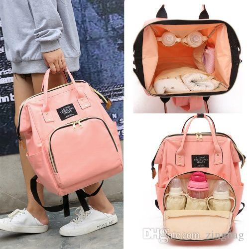 Mummy Backpack Baby Diaper Bag Backpack Multi-Function Baby Care Insulated  Backpack Waterproof Travel Nappy Tote Bags Large Capacity