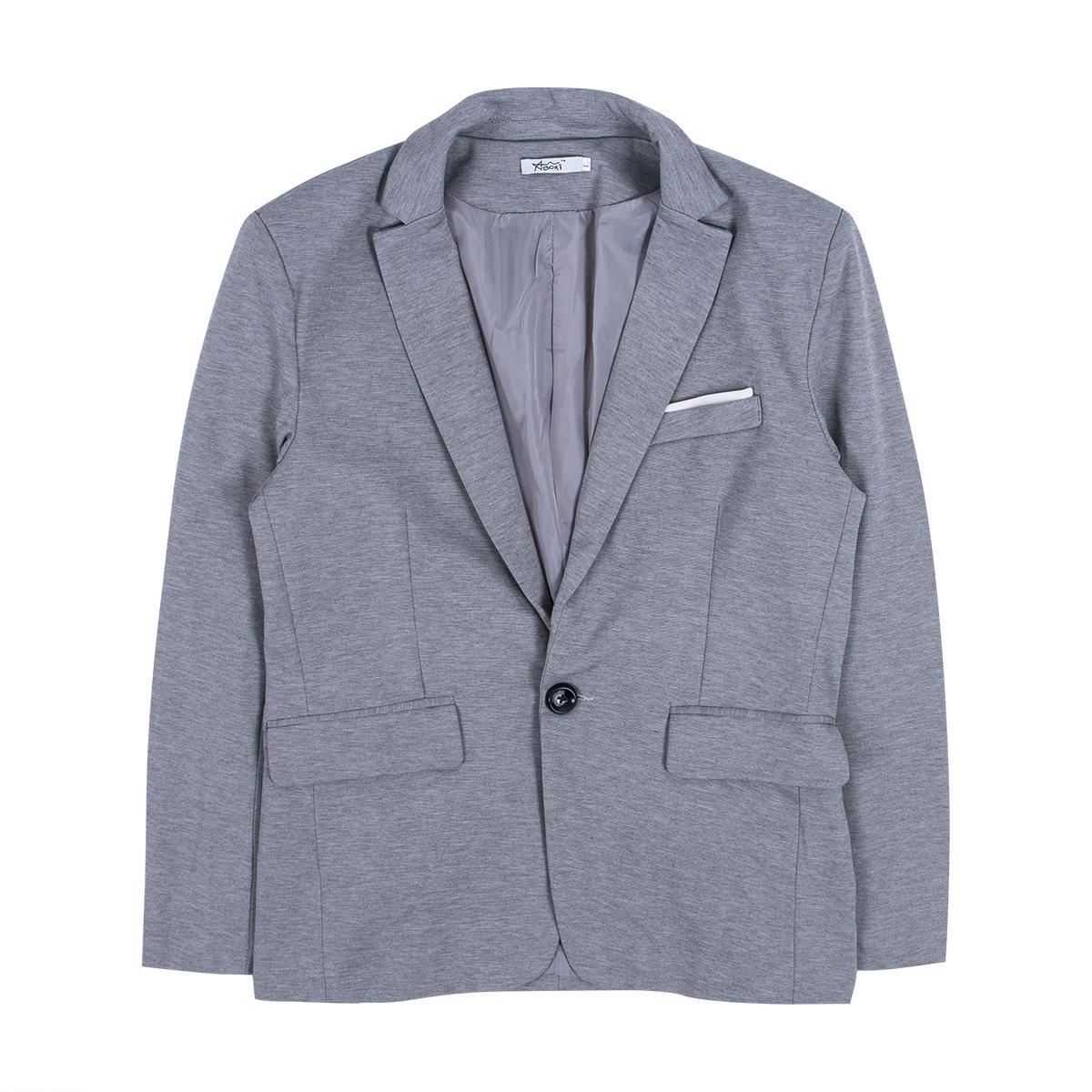 NOVO Plus Size Terno Blazers Femininos Formal Slim Fit One Button Suit Blazer Negócios Blazers homens homens