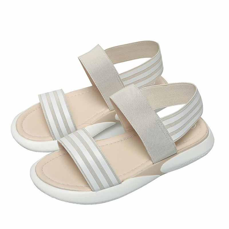 b5c5f73a55d Summer White Wedge Espadrilles Women Sandals Open Toe Gladiator Sandals  Women Casual Platform