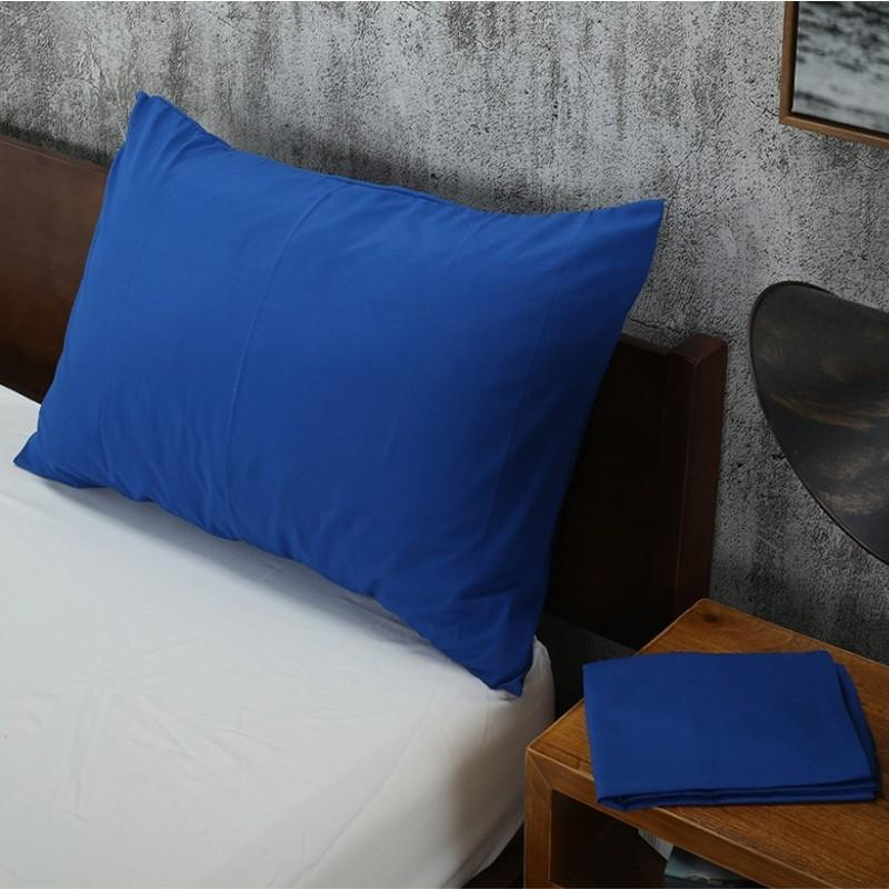 Solid Color Pillowcases 100% Polyester 470*740mm Pillow Case 1 PCS Pillow  Cover Without Core 17 Colors
