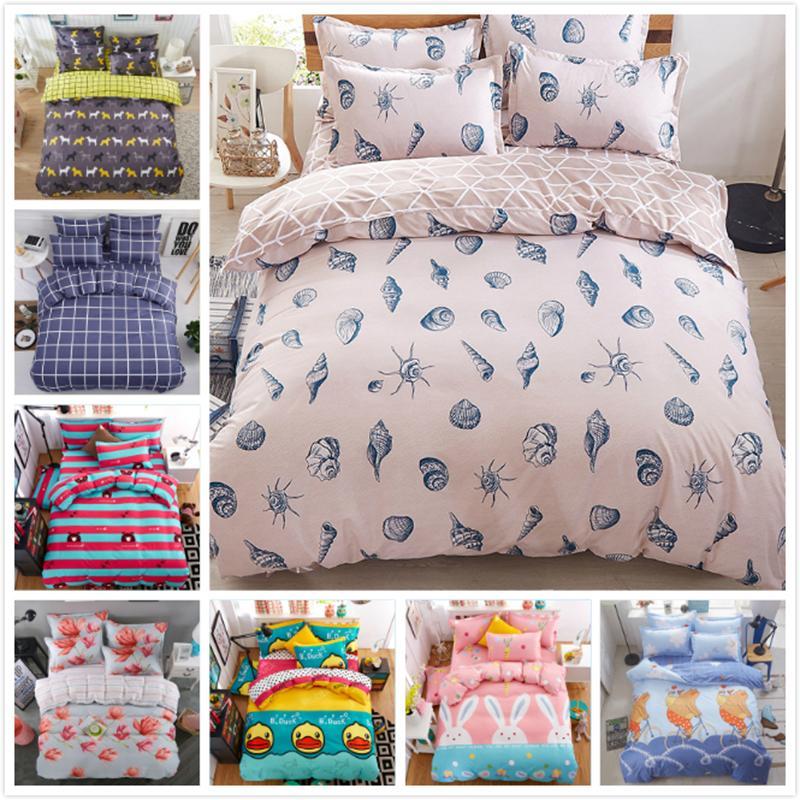 Bedombouw 180 X 220.2019 150x200 180x220 200x230 220x240 Quilt Duvet Cover 3 Bedding Set