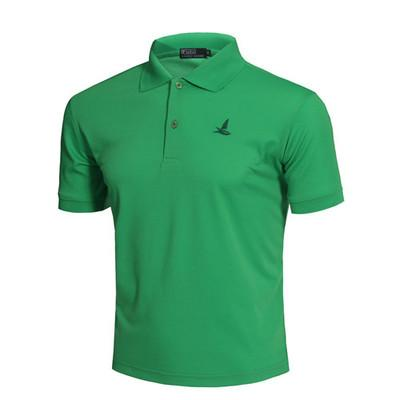 Best Selling New Classic Fashion Style Golf Polo Shirt Brand Men Summer Quick Dry Sport Short Sleeve Sportswear Workout Cotton T-shirt