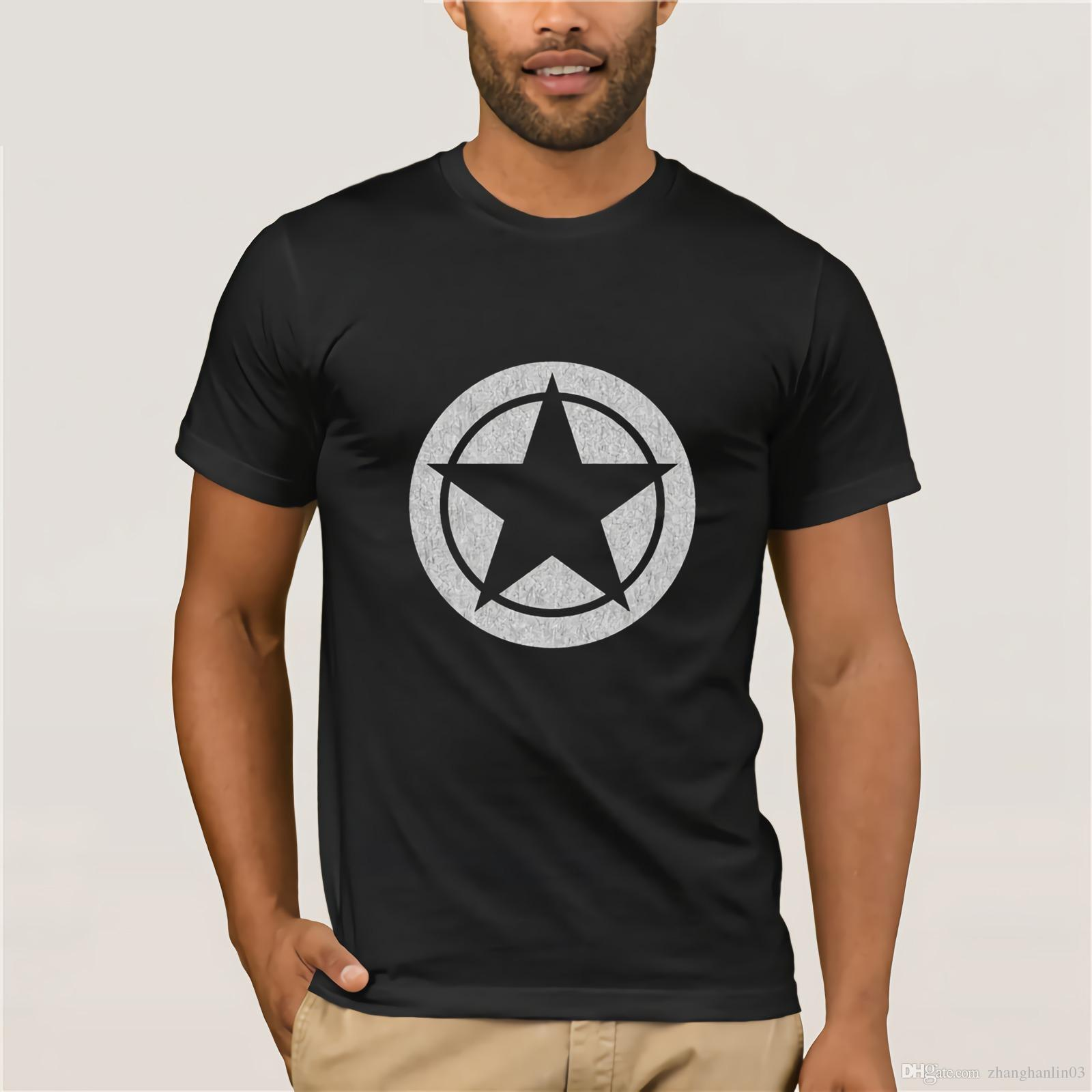 cee64dbc Black Star T Shirts Men Distressed PC Game Tops T Shirt For Men Cool T  Shirts Summer Hot Sale Crewneck Tee Shirt Short Sleeve Graphic T Shirt  Design Own T ...