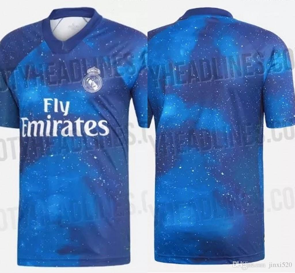 3ae7d0d08 2019 Real Madrid EA Sports Soccer Jerseys ASENSIO MODRIC Soccer Jersey  Football Shirt RAMOS Camiseta 19 20 Real Madrid Third Red Maillot From  Jinxi520