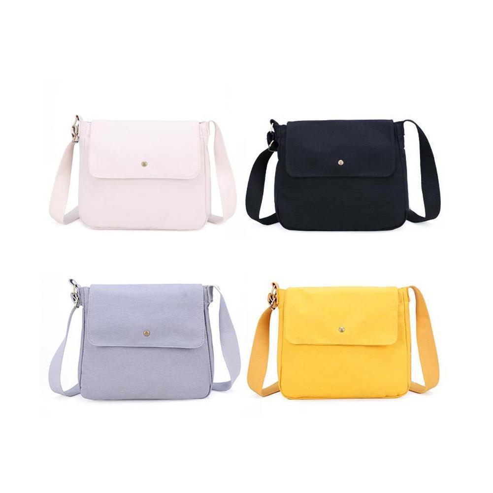7ea0edfc3bd4 Women Simple Casual Canvas Bags Beautiful Shoulder Messenger Crossbody Tote  Bag Fashion Canvas For Women Girl Hand Bag Handbag Cute Purses Rosetti  Handbags ...