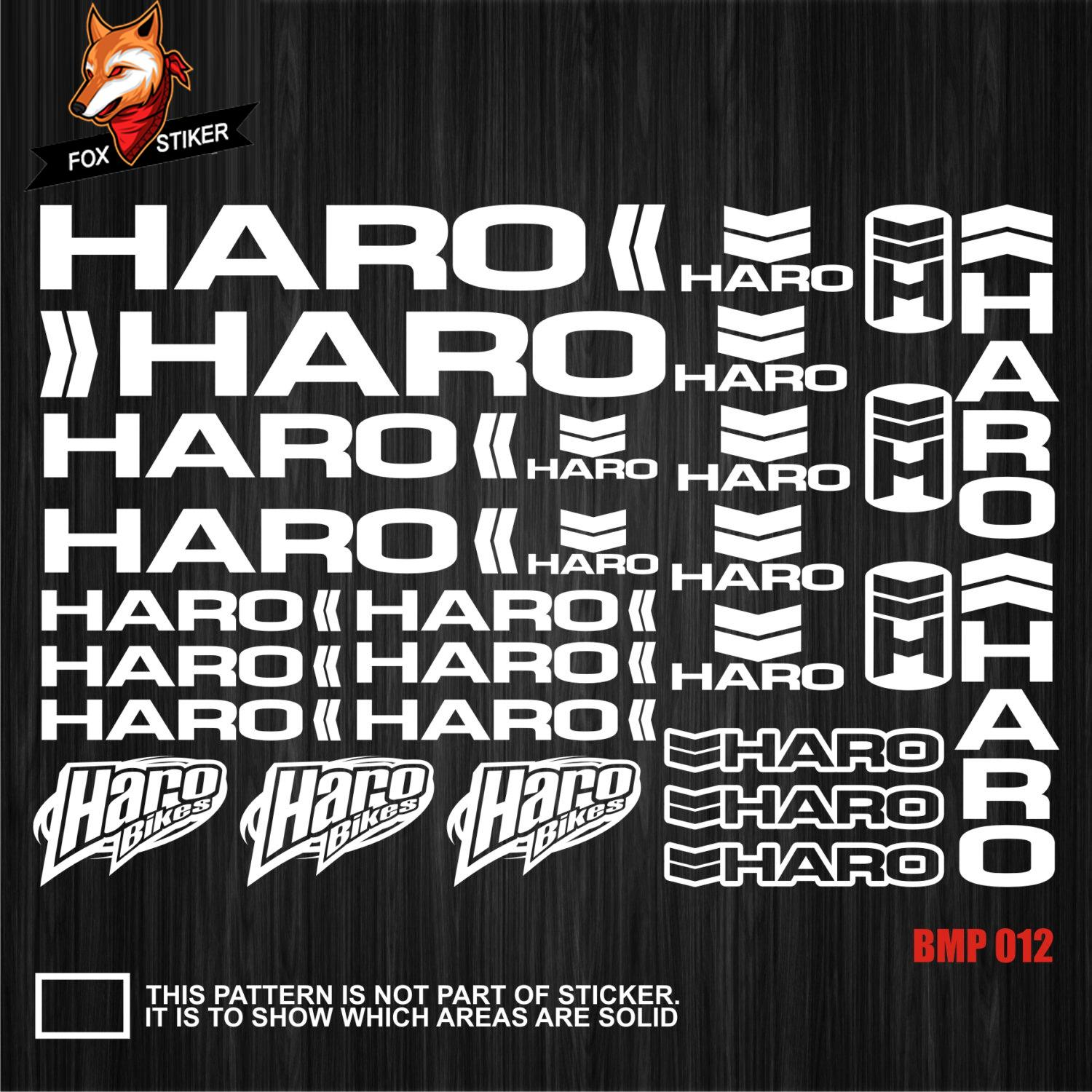 2019 bicycle frame stickers road bike mountain track bike fat bike decal reflective stickers for haro stickers from catazer bicycle 19 94 dhgate com