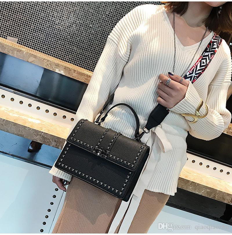 4baff169f3038 European American Style Leather Shoulder Crossbody Bags For Women ...