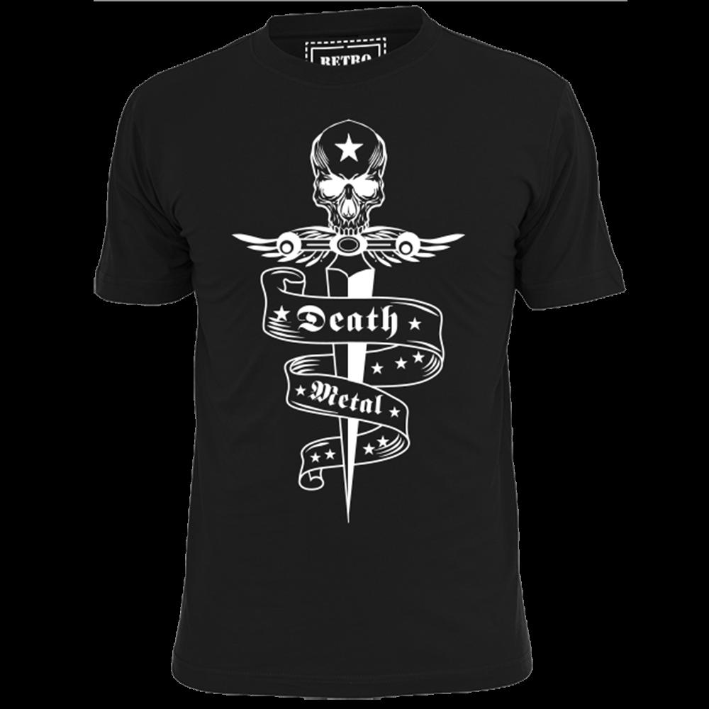 5410118d9f4cf Compre MENS DEATH METAL TATTOO MUSIC HEAVY METAL T SHIRT THRASH Hombres  Mujeres Unisex Fashion Camiseta Envío Gratis Divertido A  10.66 Del ...